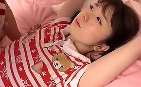 Young Japanese Teen With Small Tits Fucked Hard In Threesome