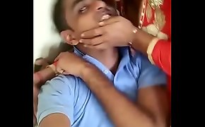 Indian gf fucking thither bf connected with field