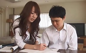 The Private Teacher is a J-Cup Performer (Hitomi Tanaka)