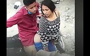 Rapidín en la moto Guatemala