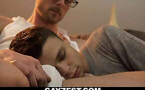 Daddy and little twink son movie night gay sex-GAYZEST.COM