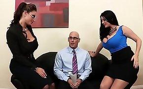 Brazzers - (Eva Notty, Sophie Dee, Johnny Sins) - Acing the Interview