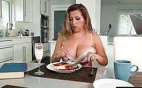 Busty latina Alessandra Miller pounded