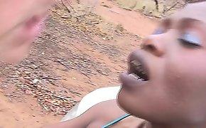 Hot mating at my african safari trip