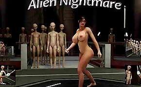 Alien Nightmare, Featuring Gisela