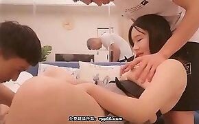 中国外围女援交暗拍直播-探花约约了个裙子妹子3P啪啪,近距离拍摄两个一起玩弄,口交后入抽插猛操