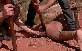 Buckle of predators anal rake over the coals babe